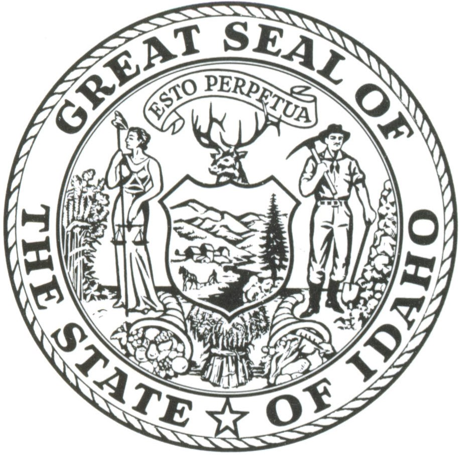 State Seals Coloring Pages Nevada Seal Colouring