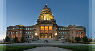The Idaho State Capitol Building